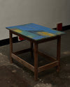 Canvas Topped Table by Clarke & Reilly