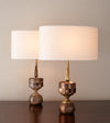 Pair of Vortex Lux Table Lamps by Gianni Vallino
