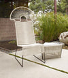 BCW Aura Chair- white by Lika Moore