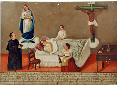 Mexican Ex-voto Painting