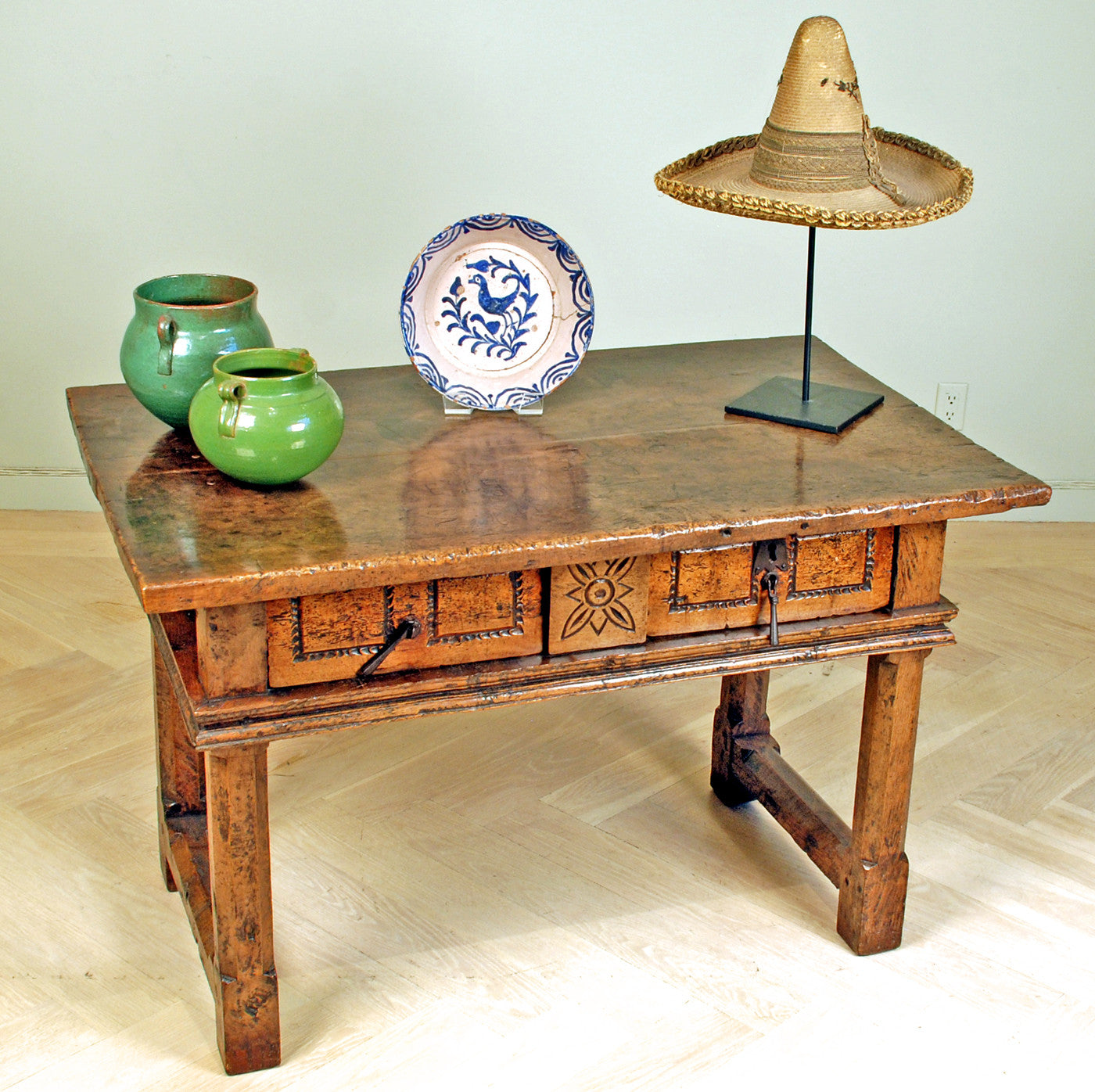 Spanish Baroque Walnut Table