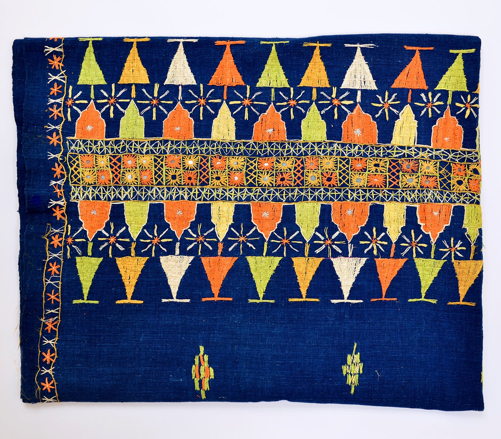 ... Indian Embroidered Textile ...