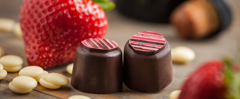 The creation story behind our Strawberry Balsamic Truffle