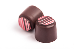 Two Strawberry Balsamic truffles from Sugar Love Chocolates