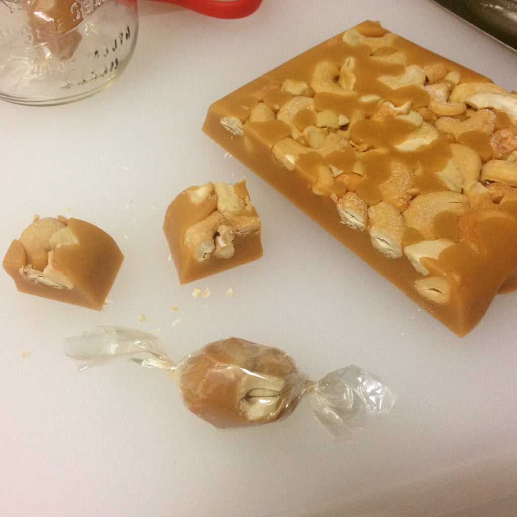 Assorted Nut Caramels