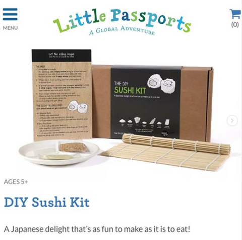 Sushi Kit on Global Grub