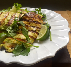 Grilled Creamy Cilantro Lime Chicken BBQ