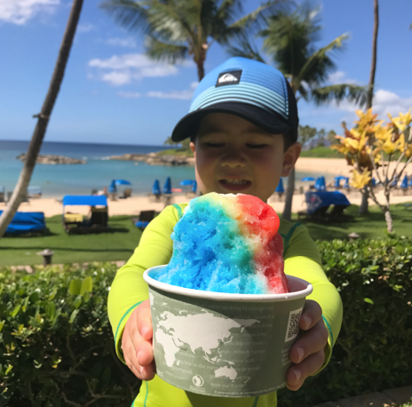 shave ice hawaii food