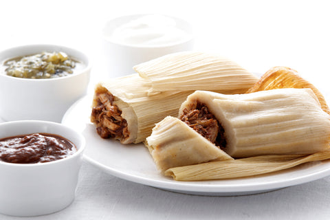 red chile tamale
