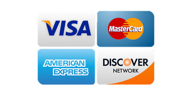 """Accepted Credit Cards"