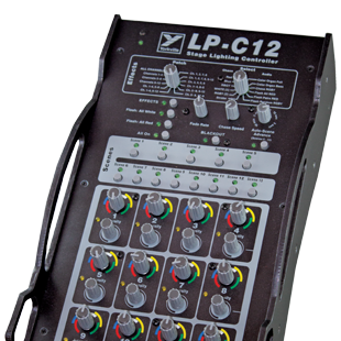 Yorkville LP-C12 12-Channel 13-Scene Controller for the LP-LED4