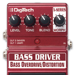 DigiTech XBD Bass Overdrive-Distortion