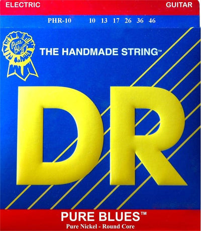 DR Pure Blues Pure Nickel Electric Guitar Strings PHR-10