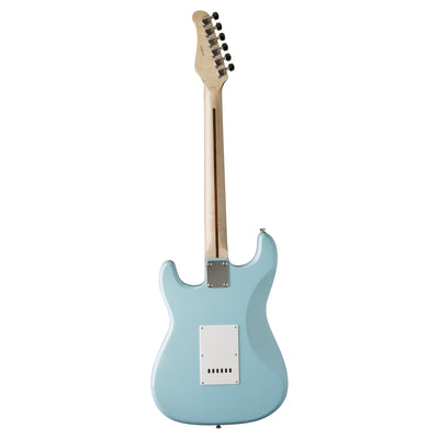 Jay Turser JT-300M Electric Guitar, Daphne Blue - 2