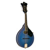 Washburn M1SDLTBL A-Style Mandolin, Transparent Blue
