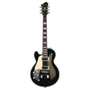 Hagstrom Super Swede Left Hand Electric Guitar - Black Gloss