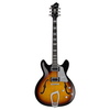 Hagstrom Super Viking Electric Guitar, Tobacco Sunburst - 1