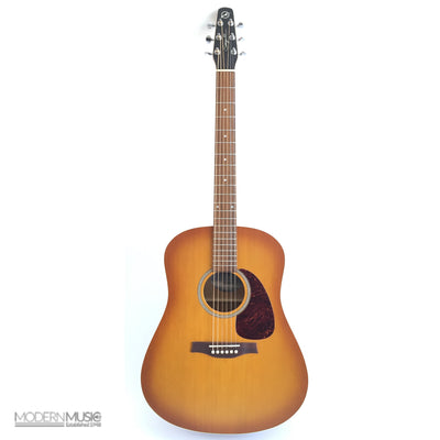 Seagull Entourage Rustic Acoustic Guitar, Like New - 4