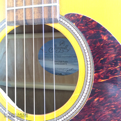 Seagull Entourage Rustic Acoustic Guitar, Like New - 7