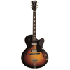 Cort Hollow Body Series Yorktown Electric Guitar, Tobacco Burst
