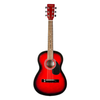 Denver 3/4 Size Acoustic Guitar - Red