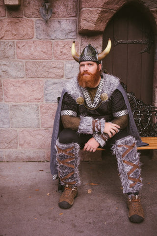 the ultimate bearded costume this halloween is none other than the viking the costume has risen in popularity through the nfl team