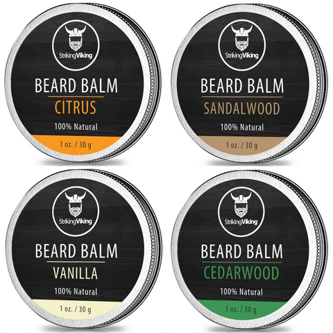 Scented Beard Balm Variety Pack
