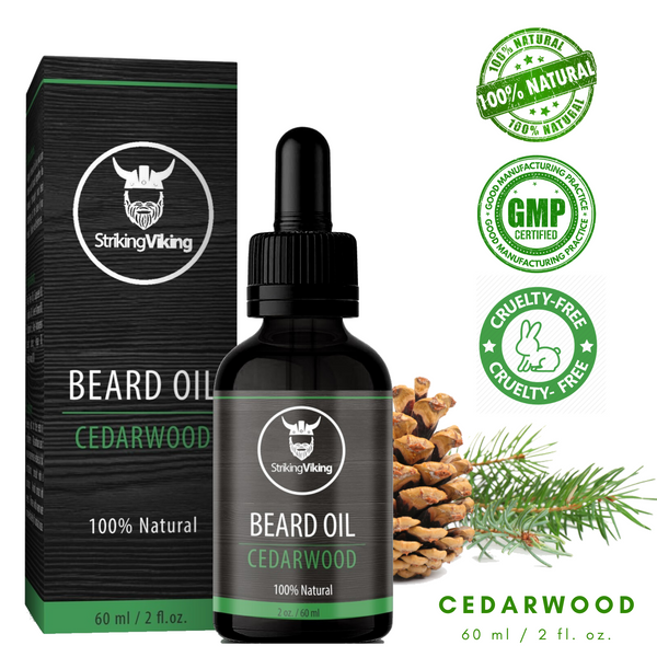 Cedarwood Beard Oil All Natural Beard Oil Cedar Pine Scent