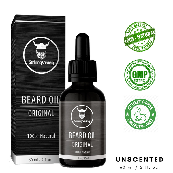 natural beard oil scent free