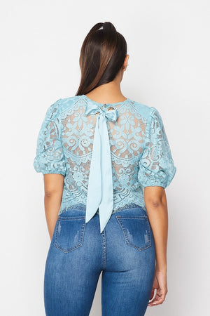Oh Darling Lace Crop Top