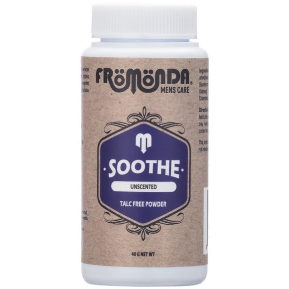 Soothe Unscented Talc Free Powder Travel Size 40g (1.35oz) - Fromonda