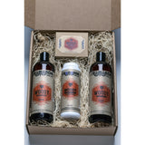 Fromonda Woody gift pack with talc free powder handcrafted soap and natural products