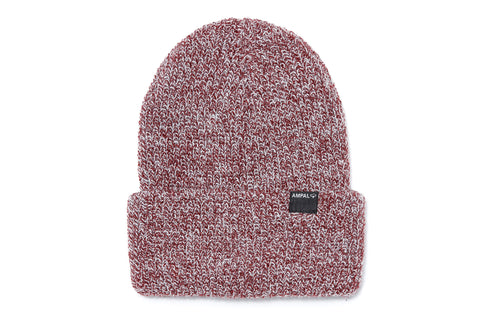 SIERRA Watch Cap Burgundy Marl