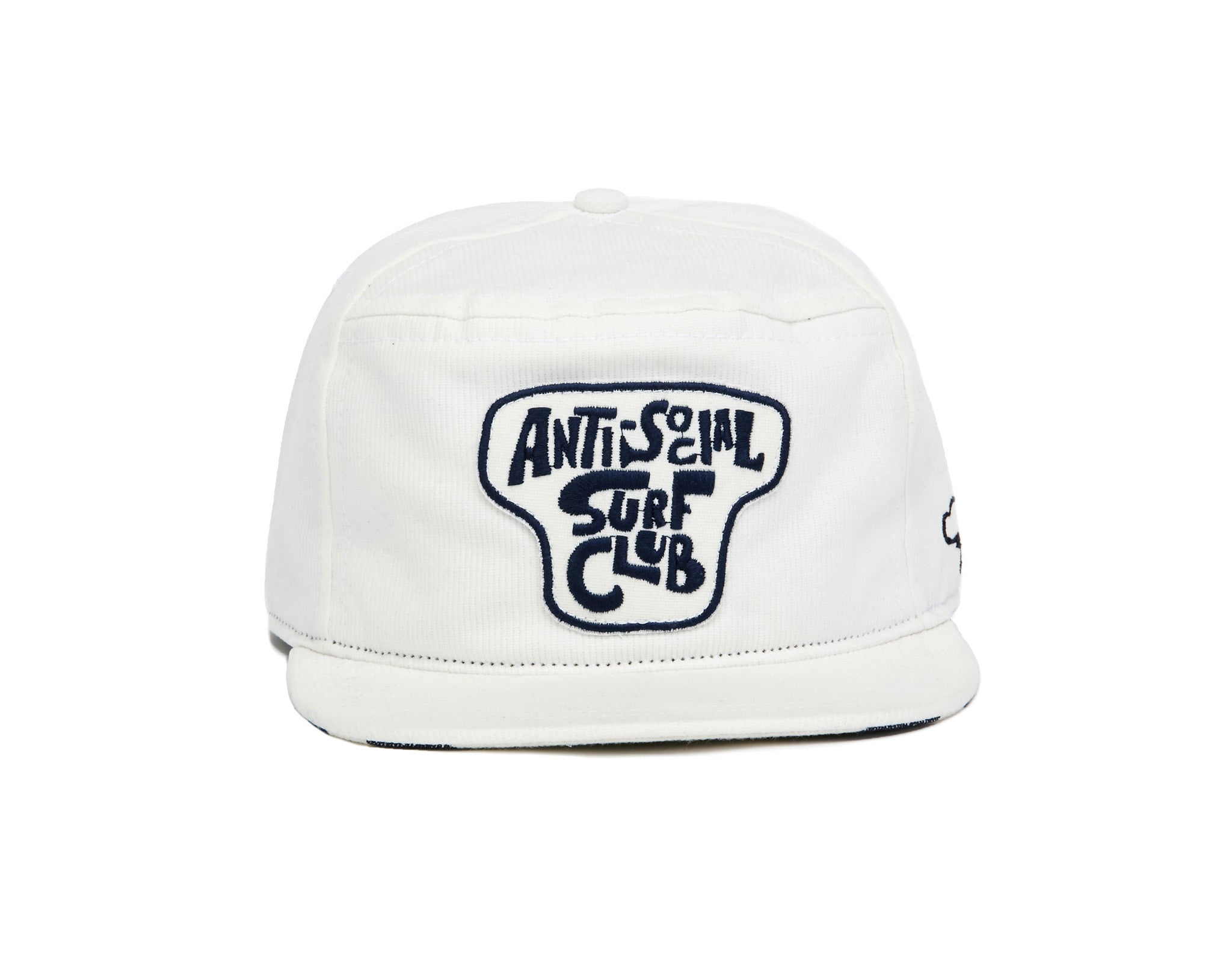 ANTI-SOCIAL SURF CLUB Snapback - White