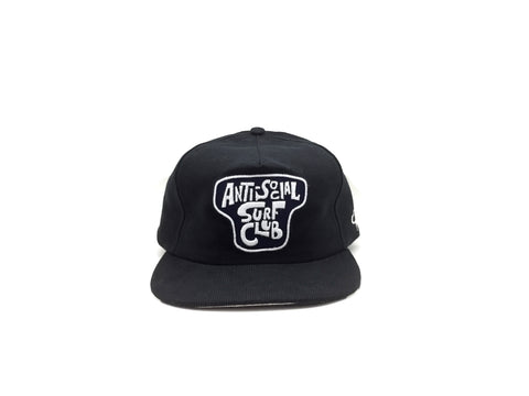 ANTI-SOCIAL SURF CLUB II Snapback - Black