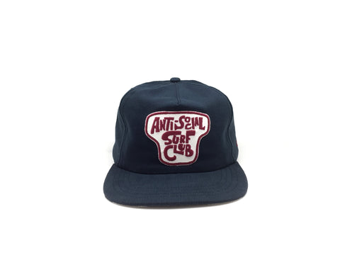ANTI-SOCIAL SURF CLUB II Snapback - Navy