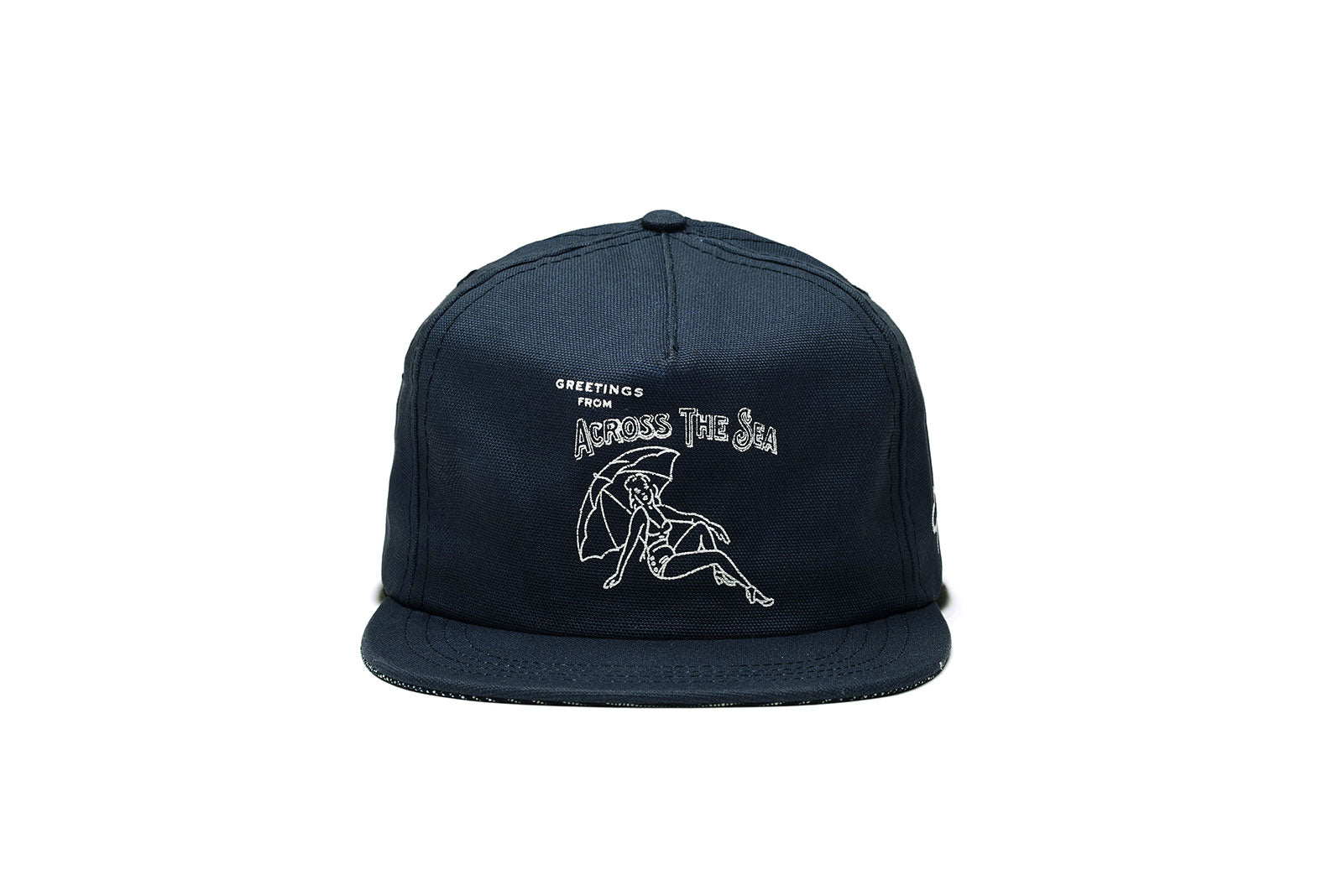 ACROSS THE SEA Strapback - Navy