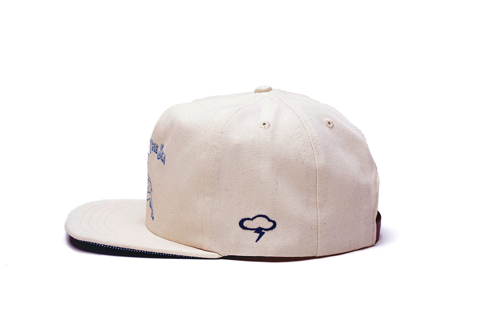 ACROSS THE SEA Strapback - Natural