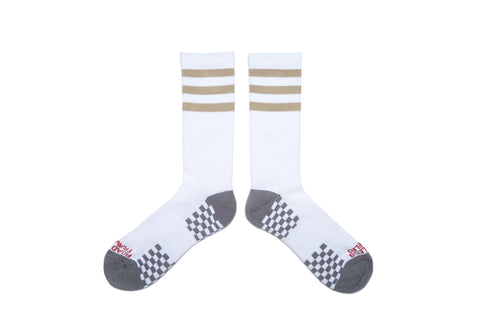 STRIPES Socks - Khaki