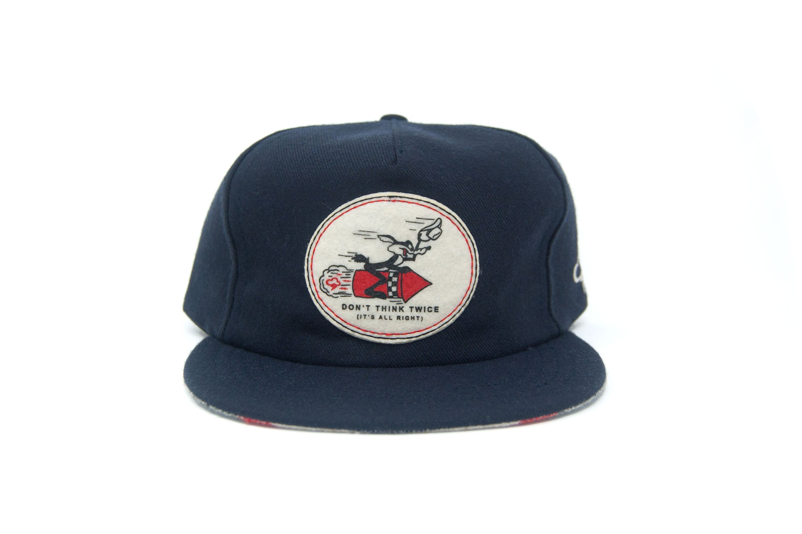 DON'T THINK TWICE Wool Strapback