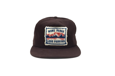MORE PARKS III Strapback