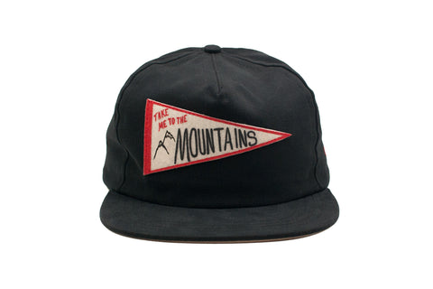 MOUNTAINS Pennant Strapback