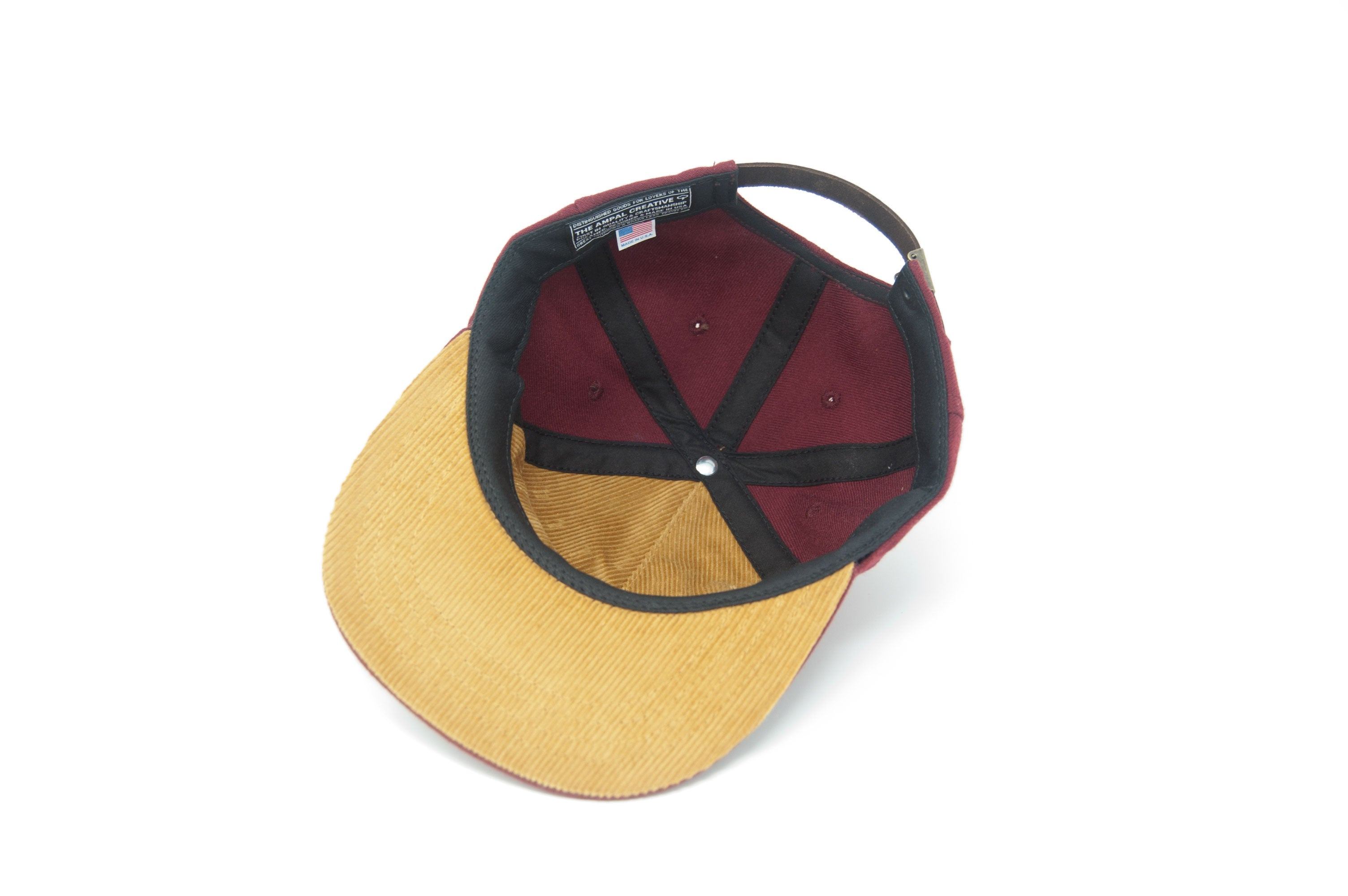 ON THE ROAD WOOL Strapback