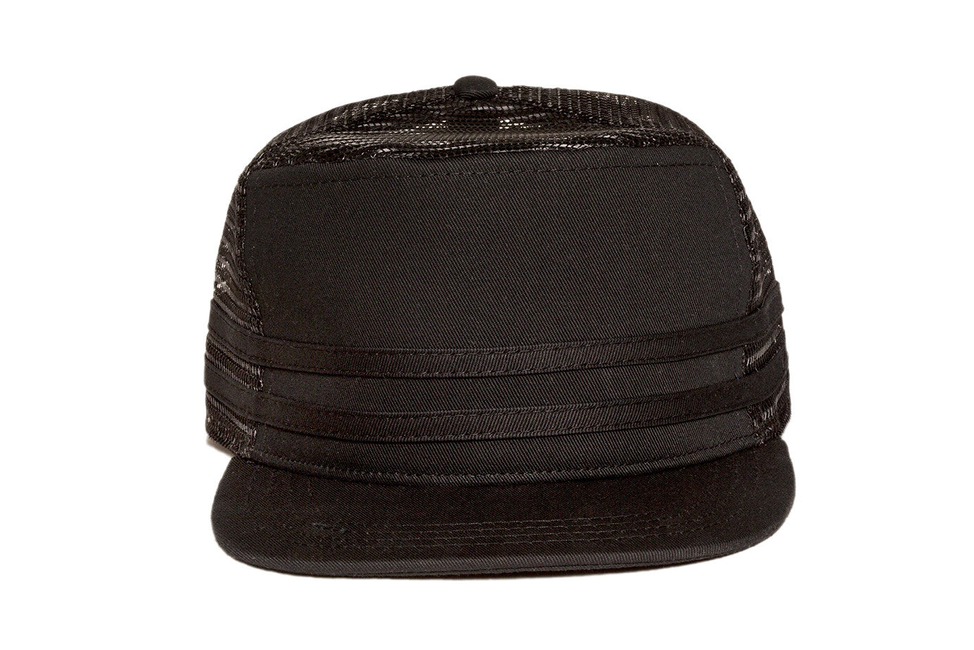 STRIPES Snapback Black