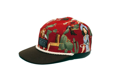 REVERSE II 5-Panel Red