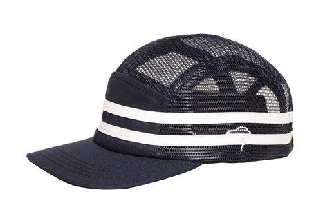 STRIPES 5-Panel Navy