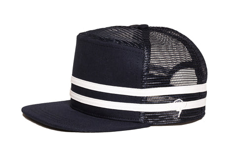 STRIPES Snapback Navy