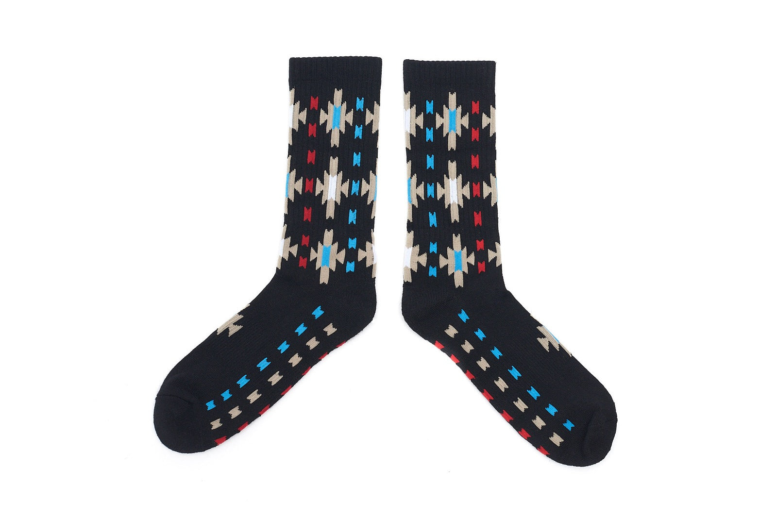 SUN BURST Socks - Black