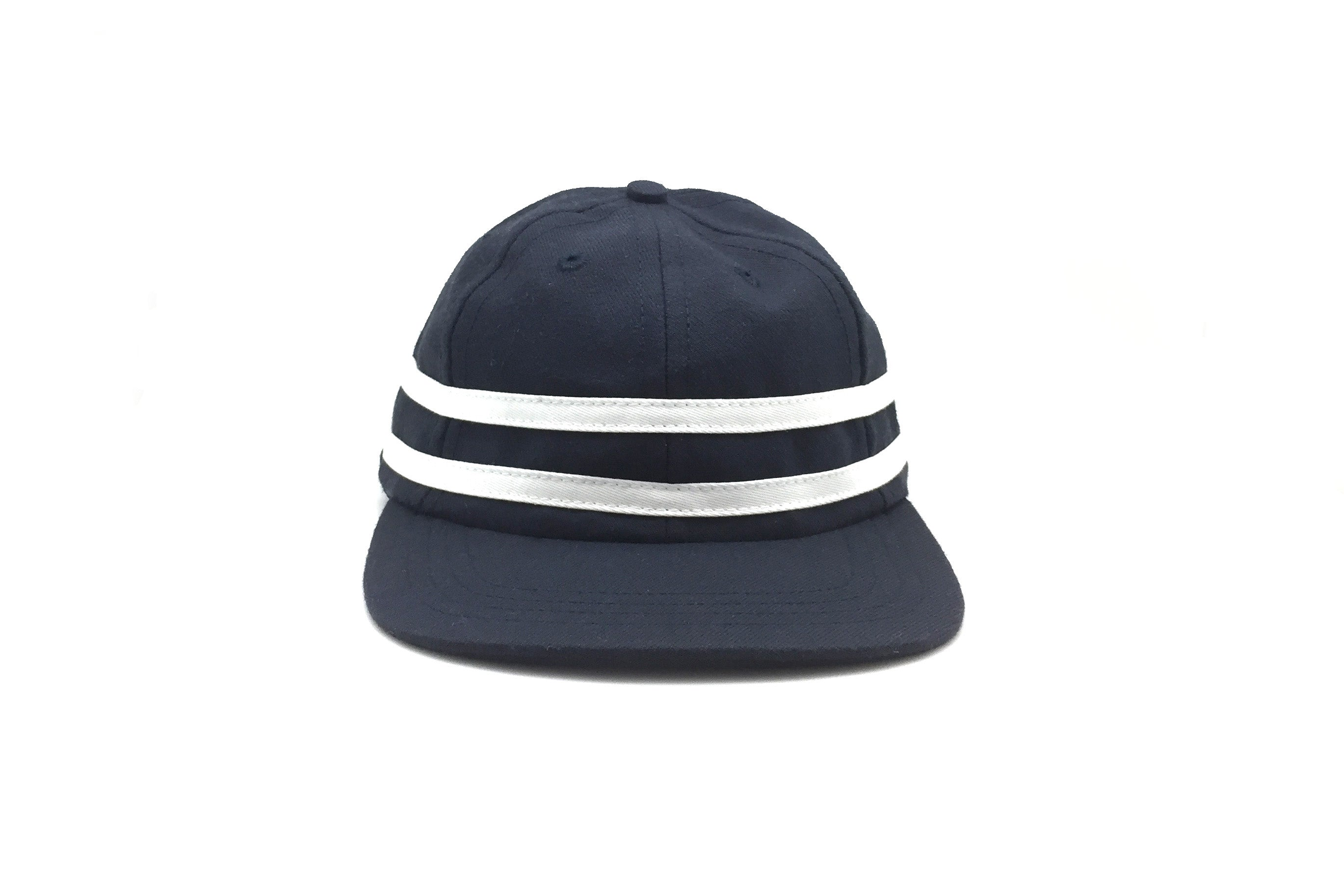 STRIPES Wool 6-Panel Navy