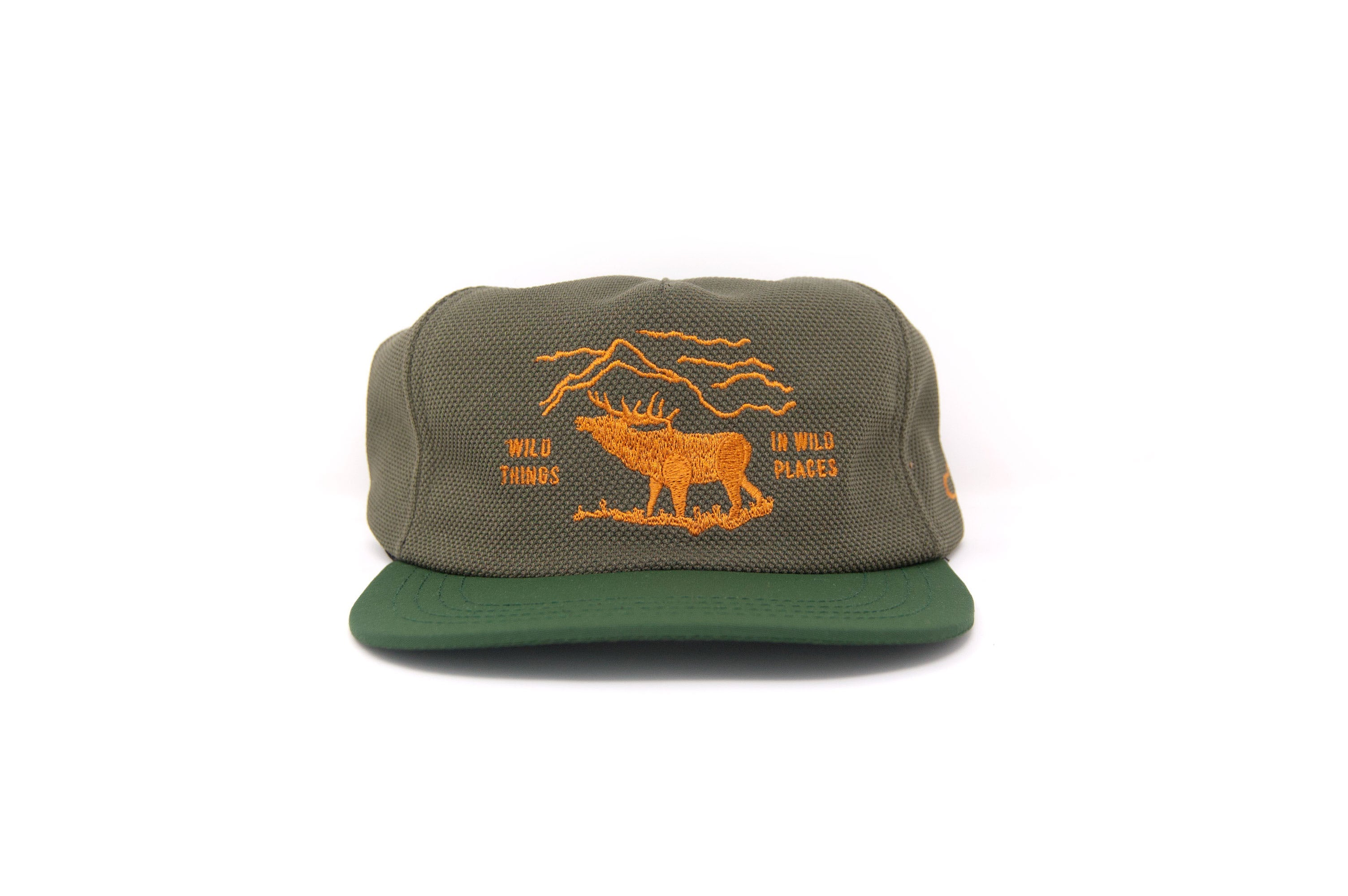 WILD PLACES Strapback - Olive